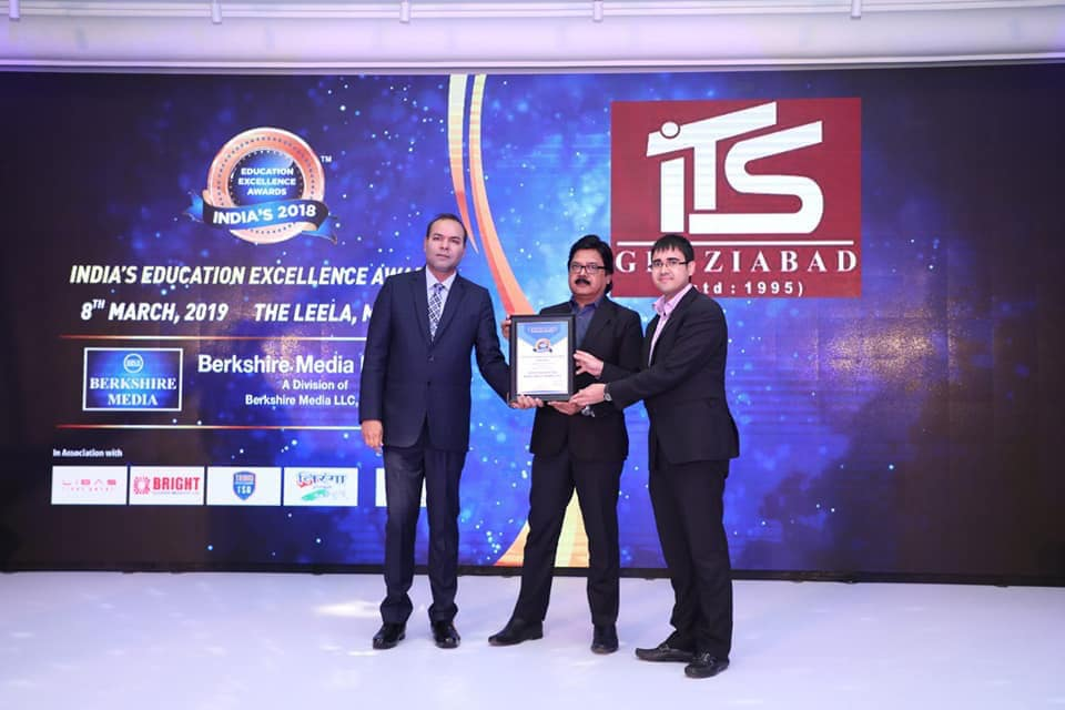 """""""India's Education Excellence Award"""" for India's Best UG & PG Private Institutes (North India) by Berkshire Media LLC, USA."""