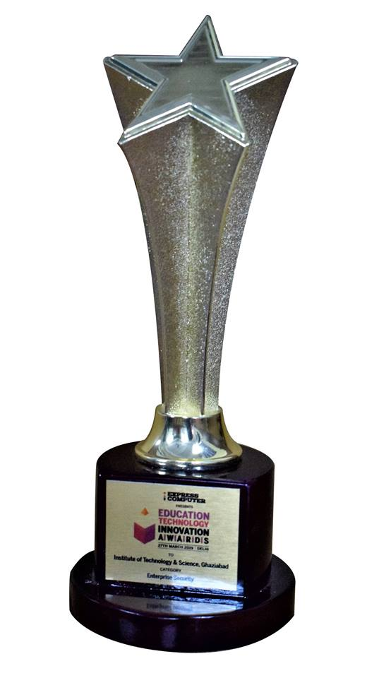 "Enterprise IT Security"" award to I.T.S- Mohan Nagar, Ghaziabad"